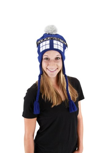 For Doctor Who Halloween Women Costume (Elope Doctor Who Tardis Laplander, Blue, One)
