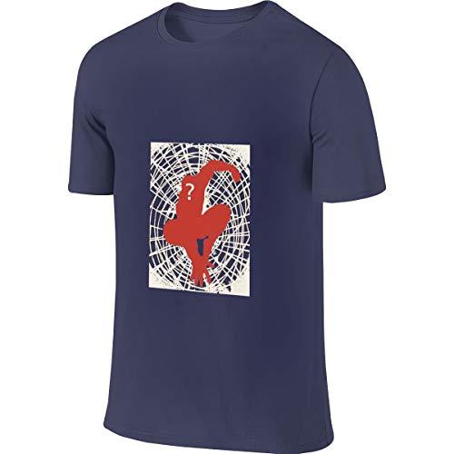 Syins Man Custom New Tops Spider Man Peter Parker Tshirts Navy