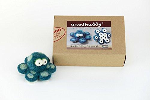 UPC 641871739967, Woolbuddy Needle Felting Octopus Kit