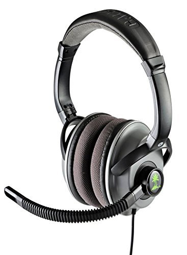 Turtle Beach Ear Force COD MW3 Foxtrot-BLK Universal Wired Gaming Headset for Playstation 3 & 4, PS4, PS3, Xbox 360, Xbox 360 E, PC Computer, and Mac - Call of Duty Limited Edition Headphones with Amplified Audio, Variable Bass Boost, Dynamic Chat Boost, In-line Amplifier, and Microphone Monitor - {Brown Box Packaging}