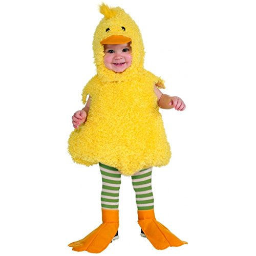 [GSG Quackie Duck Baby Costume Easter Halloween Fancy Dress] (Swan Halloween Costumes)