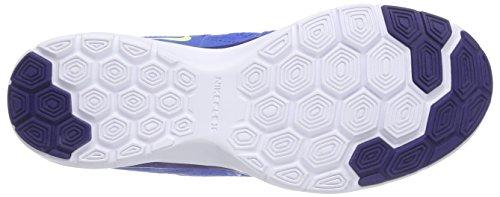 Nike Vrouwen Flex Trainer 5 Schoen Blauw; Wit