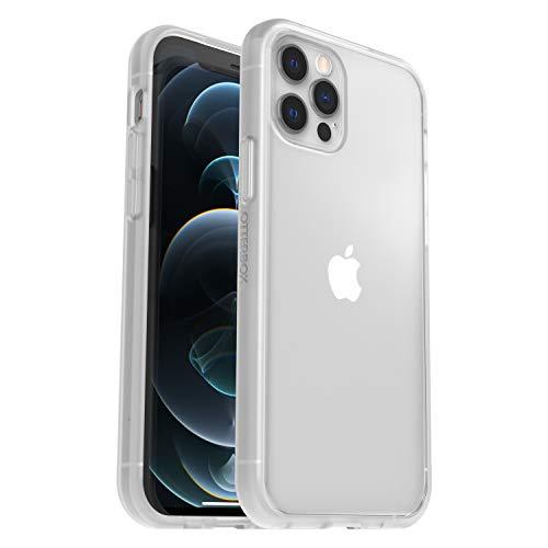 OtterBox Sleek Case funda anticaídas fina para Apple iPhone 12/12 Pro - transparente - sin embalaje