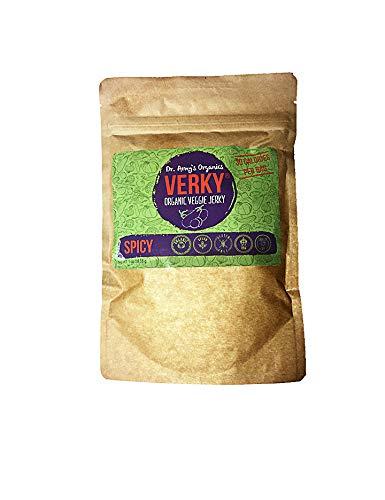 VERKY️ Organic Veggie Jerky, Spicy Flavor