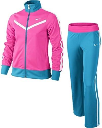 Nike T40 T Warm Up YTH - Chándal para niña, Color Azul/Rosa/Blanco ...