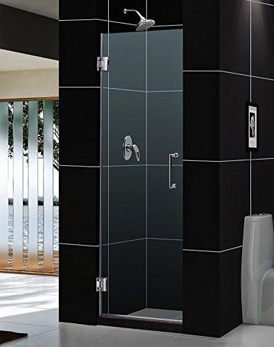 glass shower door 24 inch - 8