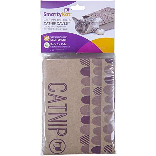 SmartyKat Catnip Caves Infused Bags, Set of 2