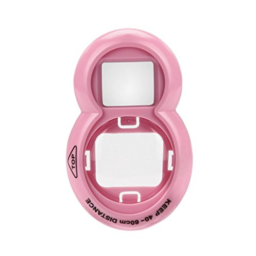 For FUJIFILM Instax Mini7s Mini8/9,Self Portrait Mirror,Sunfei Polaroid Camera Self-Timer Mirror (Pink)