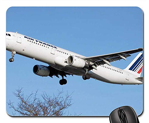 Mouse Pads - Airplane Aircraft Air France Airbus A321 Airline