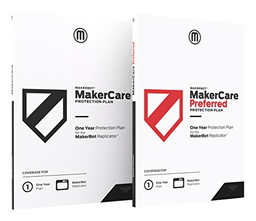 MakerBot MP07017 Makercare Preferred Protection Plan for Replicator+ - 2 Year by MakerBot