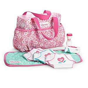 Amazon Com American Girl Bitty Baby Bitty S Diaper Bag