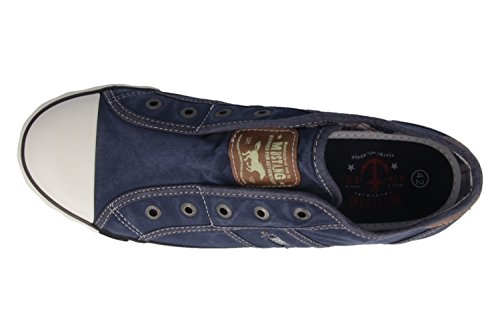 Mustang - Zapatillas de estar por casa para mujer Azul