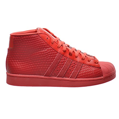 Adidas Men's Pro Model Mid-Top Leather Fashion Sneaker
