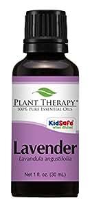 Plant Therapy Lavender Essential Oil. 100% Pure, Undiluted, Therapeutic Grade. 30 ml (1 oz).
