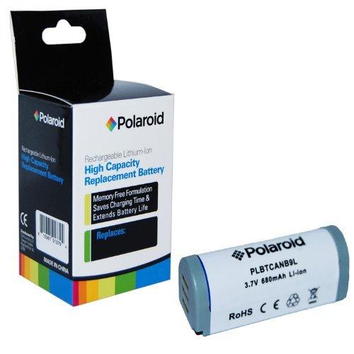 ポラロイド 大容量 キヤノン NB9L 充電式リチウム 交換用バッテリー(SD4500と互換性あり)(認定整備済)   B07KXZ6FNY