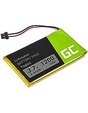 Accu, batterij Green Cell ® Topaz voor GPS Navigon 70 Plus 70/71 Plus 70/71 voormium 70/71 Easy, (Li-Polymer cellen 1200mAh 3.7V) betrouwbaarheid, moderne elektronica, lange batterijduur