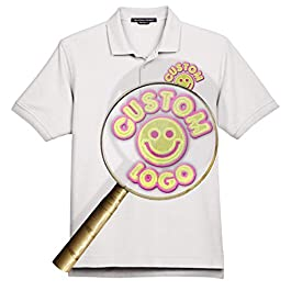 Custom Embroidered Devon & Jones D100 Polo – Personalized Image & Text – Your Design Here
