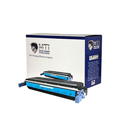 MTI PRO Universal HP 645A (C9731A) | Canon EP-86 (6829A004AA) Compatible High-Yield Cyan Toner Cartridge (Yield: 12,000) for HP Color LaserJet Printers: 5500, 5550 Series & Canon ImageClass: C3500, LBP-2710, LBP-2810, LBP-5700, LBP-5800 Series