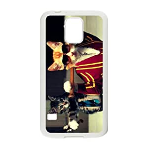 Custom Because Cat Play Baseball Cool Samsung Galaxy S5 TPU Protective Case Cover phone Cases
