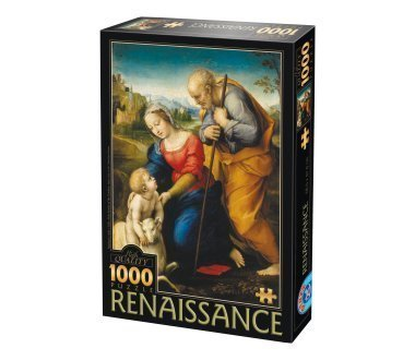 1000 Piece Holy Family Of The Cordero Renaissance Jigsaw Puzzle By Raphael