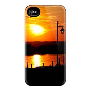Fashion Tpu Case For Iphone 4/4s- Sunset Defender Case Cover by Maris's Diary