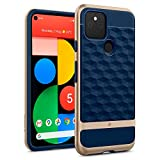 Caseology Parallax for Google Pixel 5 Case (2020) - Navy Blue (Color: Navy Blue)