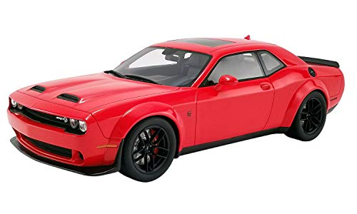 2019 Dodge Challenger SRT Hellcat Redeye Widebody TorRed USA Exclusive Series 1/18 Model Car by GT Spirit for Acme US019