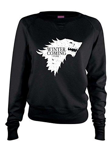 Allntrends Women's Long Sleeve Shirt Winter Is Coming (M)