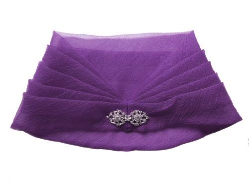 Alivila.Y Fashion - Scialle - Senza maniche - Donna Purple