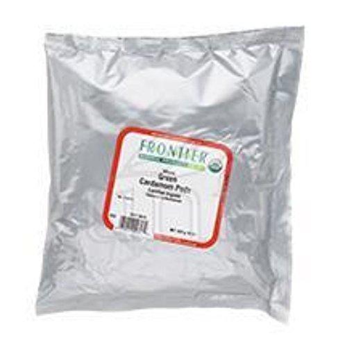 Frontier Herb Cardamom Pods - Organic - Whole - Green - Bulk - 1 Lb