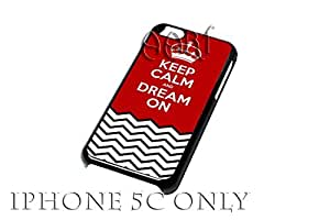 Keep Calm and dream On iPhone 5C case / iPhone 5C Case - 4G AArt #TM02 -AT&T, Verizon & Worldwide Providers...