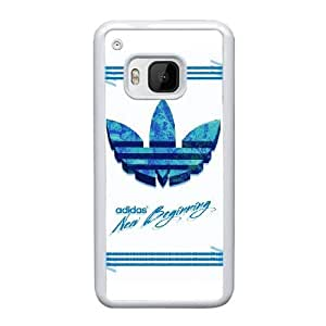 Hard Back Cover Protector HTC One M9 Cell Phone Case White Adidas Tmnpvy Design Durable Phone Cases
