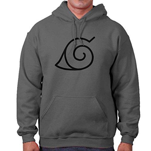 Brisco Brands Konoha Naruto Cute Kakashi Sensei Manga Gym Ninja Hoodie Sweatshirt by Brisco Brands (Image #9)