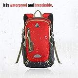 YTYC KIMLEE Male Female Double Shoulder Bag Waterproof Mountaineering Backpack