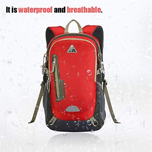 YTYC KIMLEE Male Female Double Shoulder Bag Waterproof Mountaineering Backpack by YTYC (Image #6)