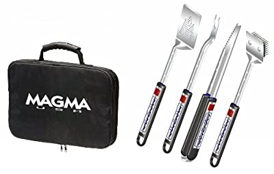 Magma Products Telescoping Grill Tool, Set of 5 (Black)