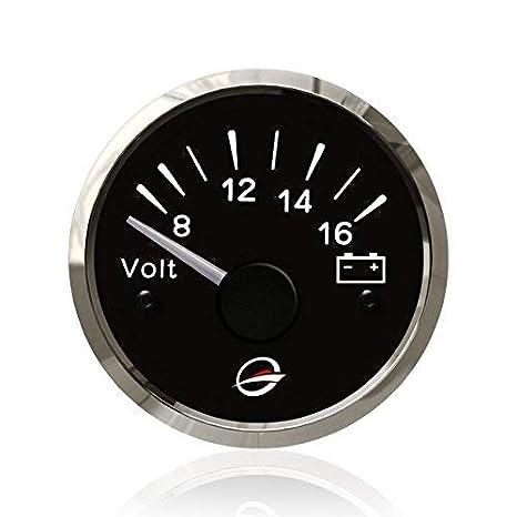 """12v electrical voltmeter gauge meter - 2"""""""