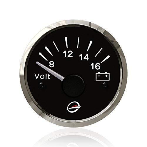 12V Electrical Voltmeter Gauge Meter - 2