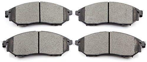 Brake Pads,ECCPP 4pcs Front Ceramic Disc Brake Pads Kits for 2011 2012 2013 2014 2015 Chevrolet Cruze,2012 2013 2014 2015 2016 2017 Chevrolet Sonic 066614-5211-1742091