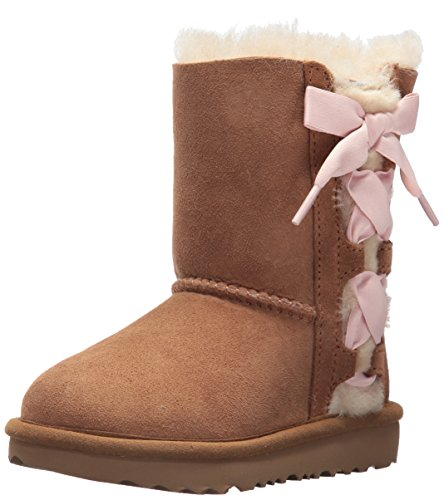 UGG Girls T Pala Pull-on Boot, Chestnut, 11 M US Little Kid by UGG