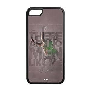 the Case Shop- Avengers 2 Avengers2 Age of Ultron Super Hero Loki TPU Rubber Hard Back Case Silicone Cover Skin for iPhone 5C , i5cxq-766