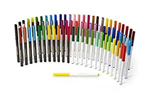 Crayola SuperTips Washable Markers, 80 Count Set, Includes Scented Markers