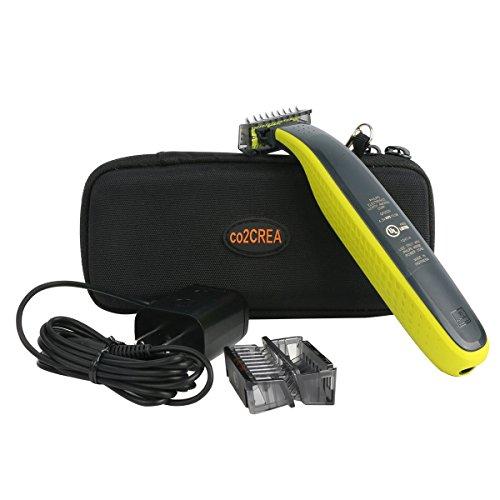 Hart Reise Schutz Hülle Etui Tasche für Philips OneBlade Trimmen Stylen Rasieren QP2530/30 von co2CREA