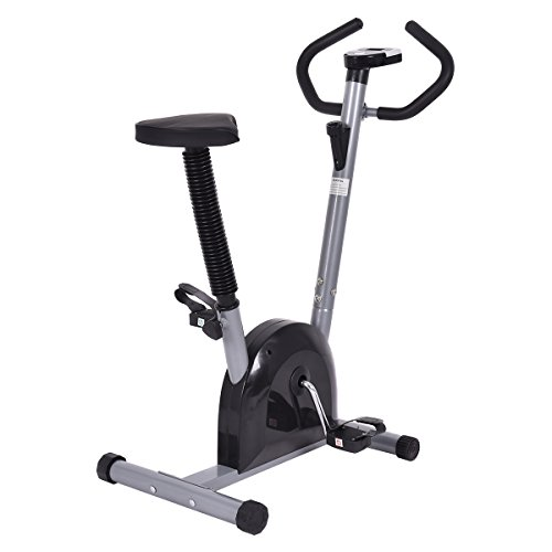 Gym Bike - Goplus Exercise Bike Cardio Fitness Cycling Machine Gym Workout Training Stationary Indoor Cycling Bike