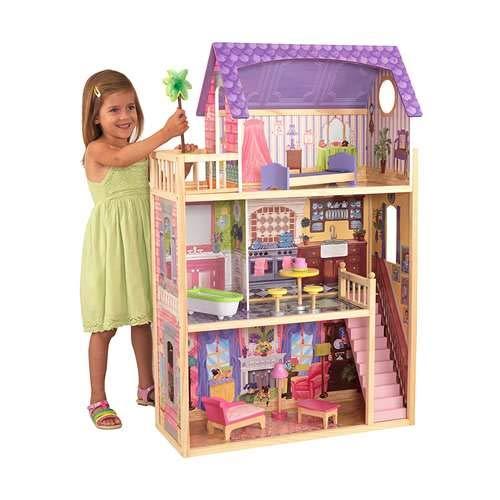 KidKraft Kayla Dollhouse + 10 Pieces of Furniture