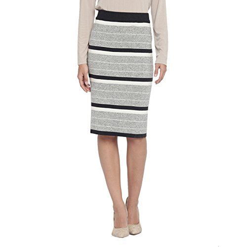 5ac5fa998990 Annabelle By Pantaloons Women's Frills Knee-Long Skirt  (110031769001_Grey_26)