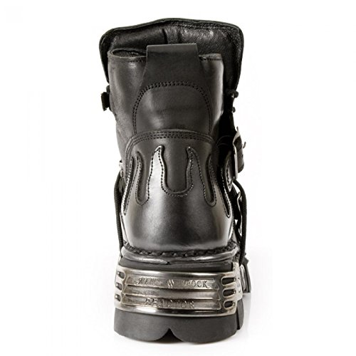 New Rock Boots M.288-s2 Gotico Hardrock Punk Unisex Stiefelette Schwarz