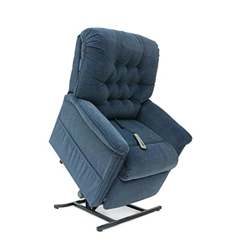 (Pride Mobility LC-358M Heritage LC-358 Line 3-Position Lift Chair Recliner - Medium - Stone)