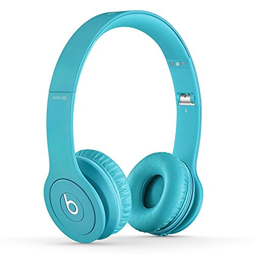 Beats Solo HD Wired On-Ear Heapdhone - Matte Light Blue (Discontinued by Manufactuer) (Renewed)