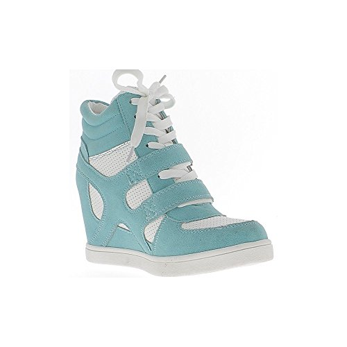 Aumento 5 Tacco Blu Zeppa Cm Bianco 7 Sneakers Con Chaussmoi E A ASqRnHRTxw